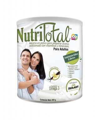 NUTRITOTAL ADULTOS VAINILLA 400 G