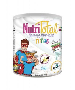 NUTRITOTAL NIÑOS VAINILLA400G
