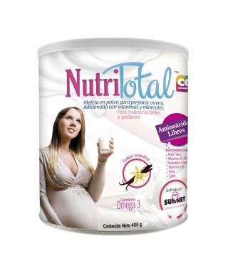 NUTRITOTAL MADRES GESTANTES Y LACTANTES VAINILLA 400G